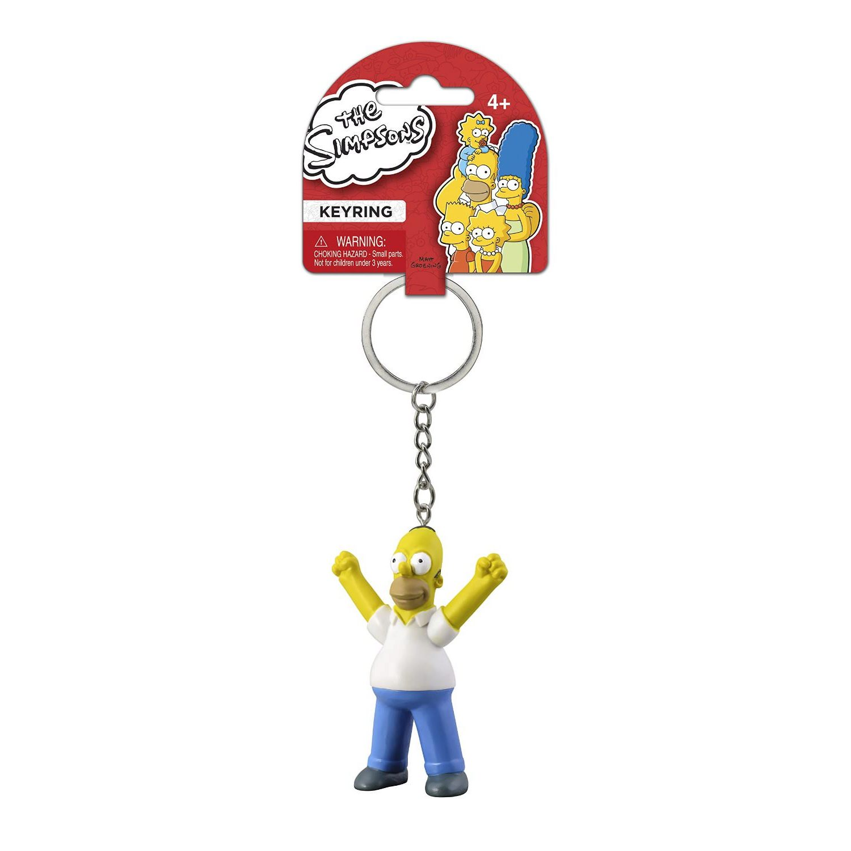 PVC Figure Keyring: Homer