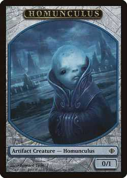 Homunculus Token - Blue - 0/1