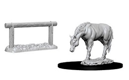 Deep Cuts Unpainted Miniatures: Horse and Hitch