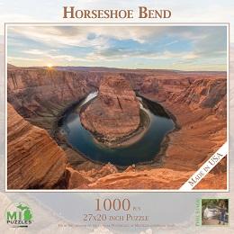 Horseshoe Bend Puzzle (1000 Pieces)