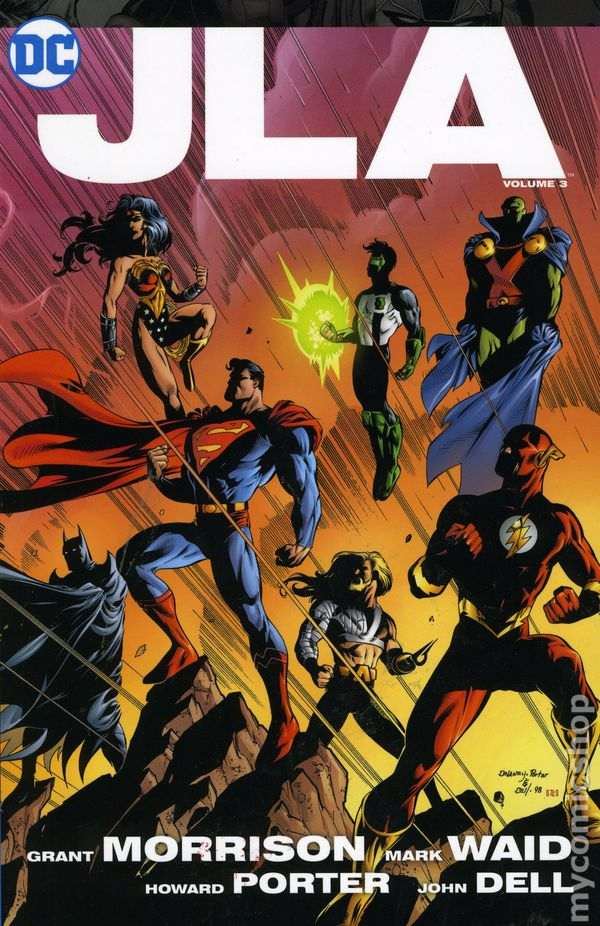 JLA Volume 3 Deluxe Edition TP - Used