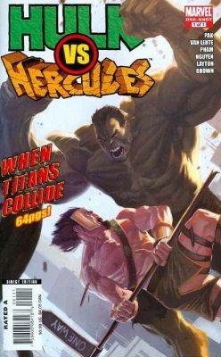 Hulk vs. Hercules When Titans Collide (2008) One Shot - Used
