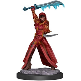 Dungeons and Dragons Fantasy Miniatures: Icons of the Realms Premium Figure: Human Female Rogue