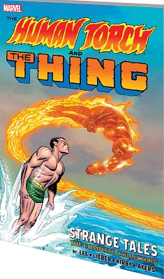 Human Torch and The Thing: Strange Tales Complete Collection TP