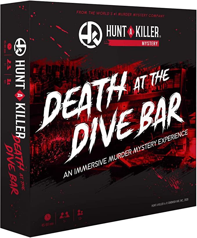 Hunt A Killer: Death at the Dive Bar Board Game