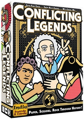 Conflicting Legends Card game