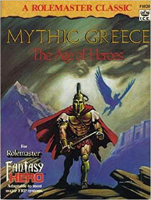 A Rolemaster Classic: Mythic Greece: the Age of Heroes - USED