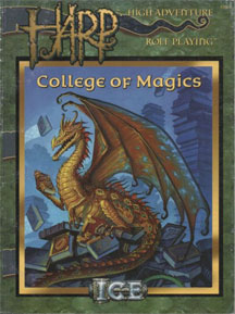 High Adventure Role Playing: College of Magics - USED