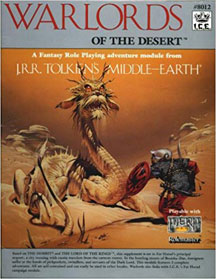 Warlords of the Desert - USED