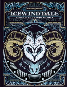 Dungeons and Dragons 5th Ed: Icewind Dale: Rime of the Frostmaiden HC (Exclusive Retail Ed)