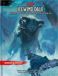 Dungeons and Dragons 5th Ed: Icewind Dale: Rime of the Frostmaiden HC (Standard Ed)