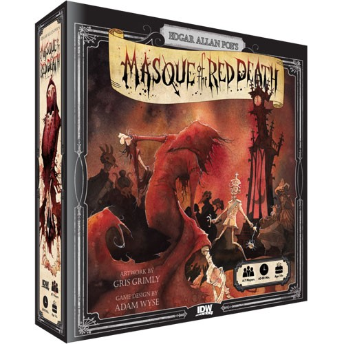 Masque of the Red Death Board Game