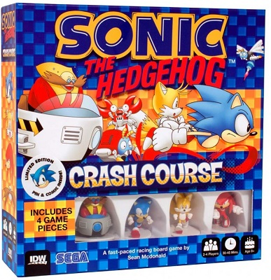 Sonic the Hedgehog: Crash Course Board Game
