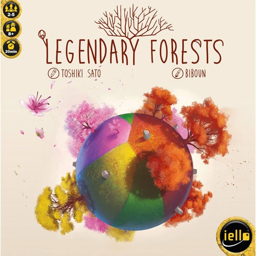 Legendary Forests Board Game