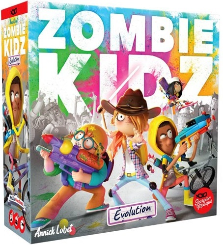 Zombie Kidz: Evolution Board Game