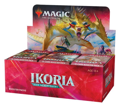Magic the Gathering: Ikoria Lair of Behemoths Booster Box (36 Packs)