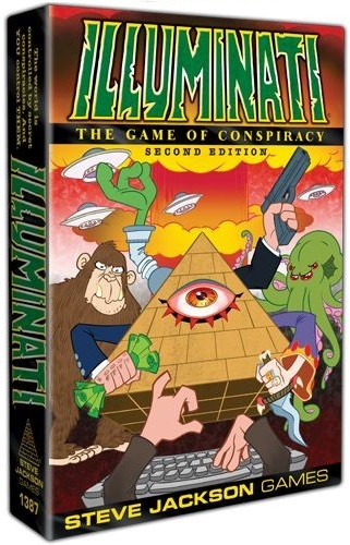 Illuminati Card Game (2nd Edition)