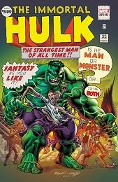 Immortal Hulk no. 33 (2018 Series) (Bennett Variant)