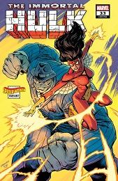 Immortal Hulk no. 33 (2018 Series) (Spider-Woman Variant)