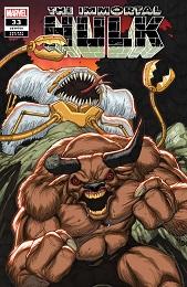 Immortal Hulk no. 33 (2018 Series) (Ron Lim Variant)
