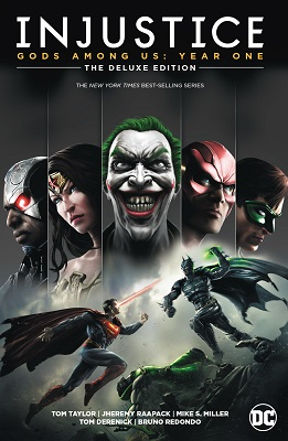 Injustice Gods Among Us: Year One HC (Deluxe Edition)