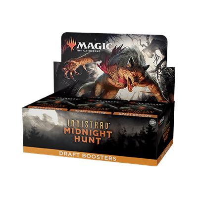 Magic the Gathering: Innistrad: Midnight Hunt Draft Booster Box (36 packs)