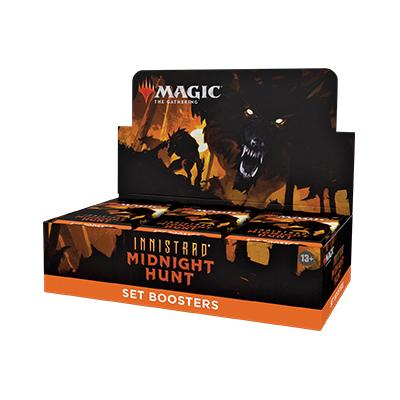 Magic the Gathering: Innistrad: Midnight Hunt Set Booster Box (30 packs)