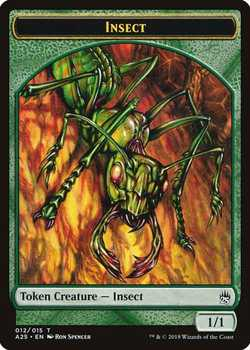 Insect Token - Green - 1/1