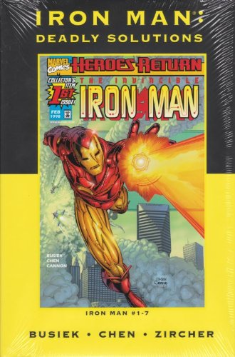 Iron Man: Deadly Solutions (Marvel Premeire Classic Edition) HC - Used