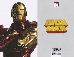 Iron Man no. 1 (2020 Series) (Timeless Variant)