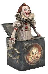 IT 2 Gallery: Pennywize in a Box PVC Statue