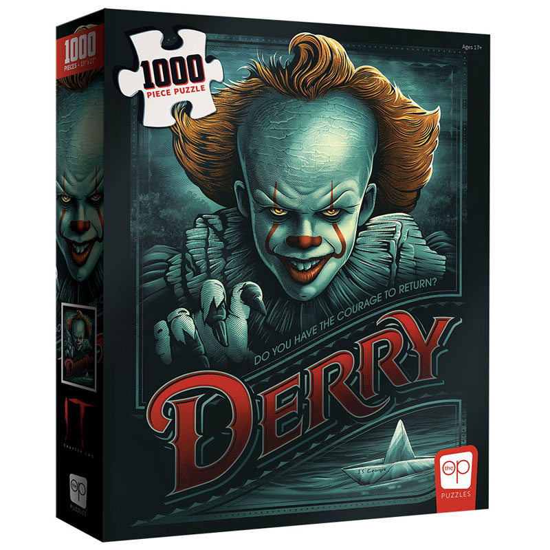 """IT Chapter Two """"Return to Derry"""" Puzzle - 1000 Pieces"""