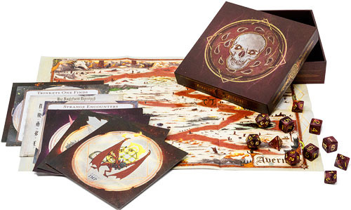 Dungeons and Dragons 5th ed: Baldur's Gate Descent into Avernus: Dice and Miscellany Set