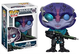 Funko POP: Mass Effect Andromeda: Jaal- Used