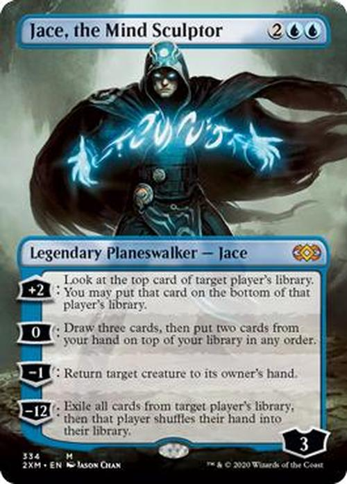 Jace, the Mind Sculptor Full Art (Double Masters Box Topper)