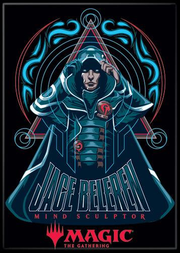 Magic the Gathering Magnet 2.5 X 3.5: Jace Beleren Mind Sculptor