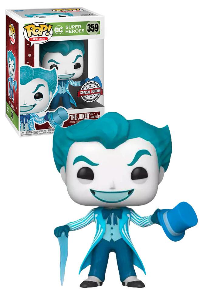 Funko POP: DC Super Heroes: Joker as Jack Frost - Used