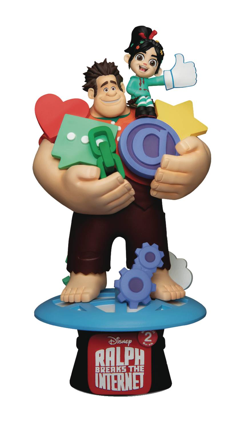 Wreck-It Ralph: Ralph and Vanellope Statue