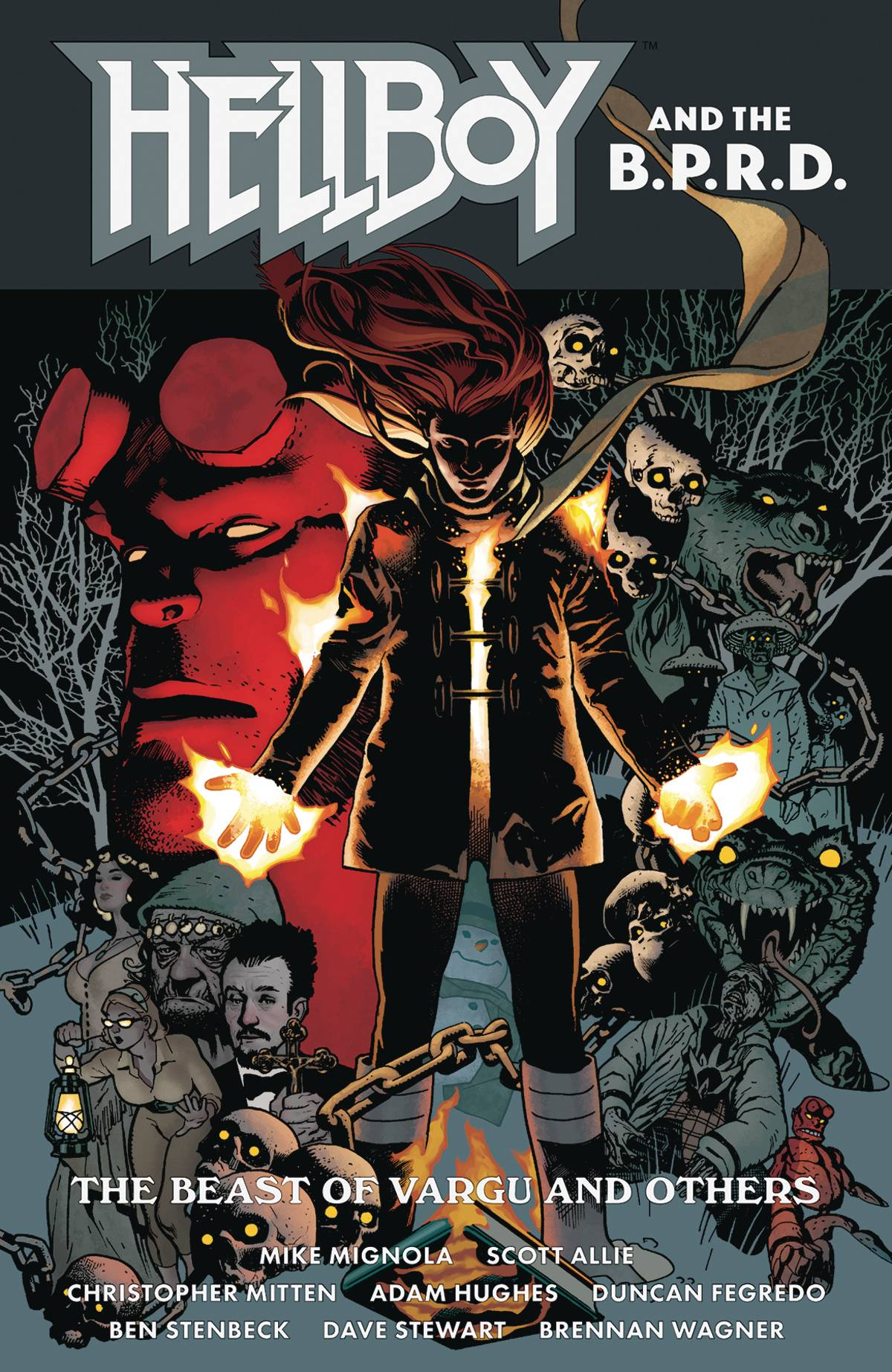 Hellboy and the B.P.R.D.: The Beast of Vargu and Others TP