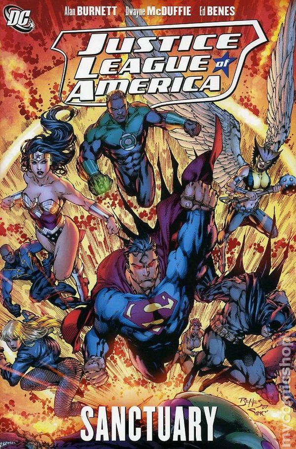 Justice League of America: Injustice League HC - Used