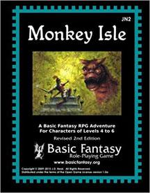 Basic Fantasy Role Playing: Monkey Isle - USED
