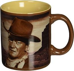 John Wayne A Man's Got to Do 12oz. Ceramic Mug