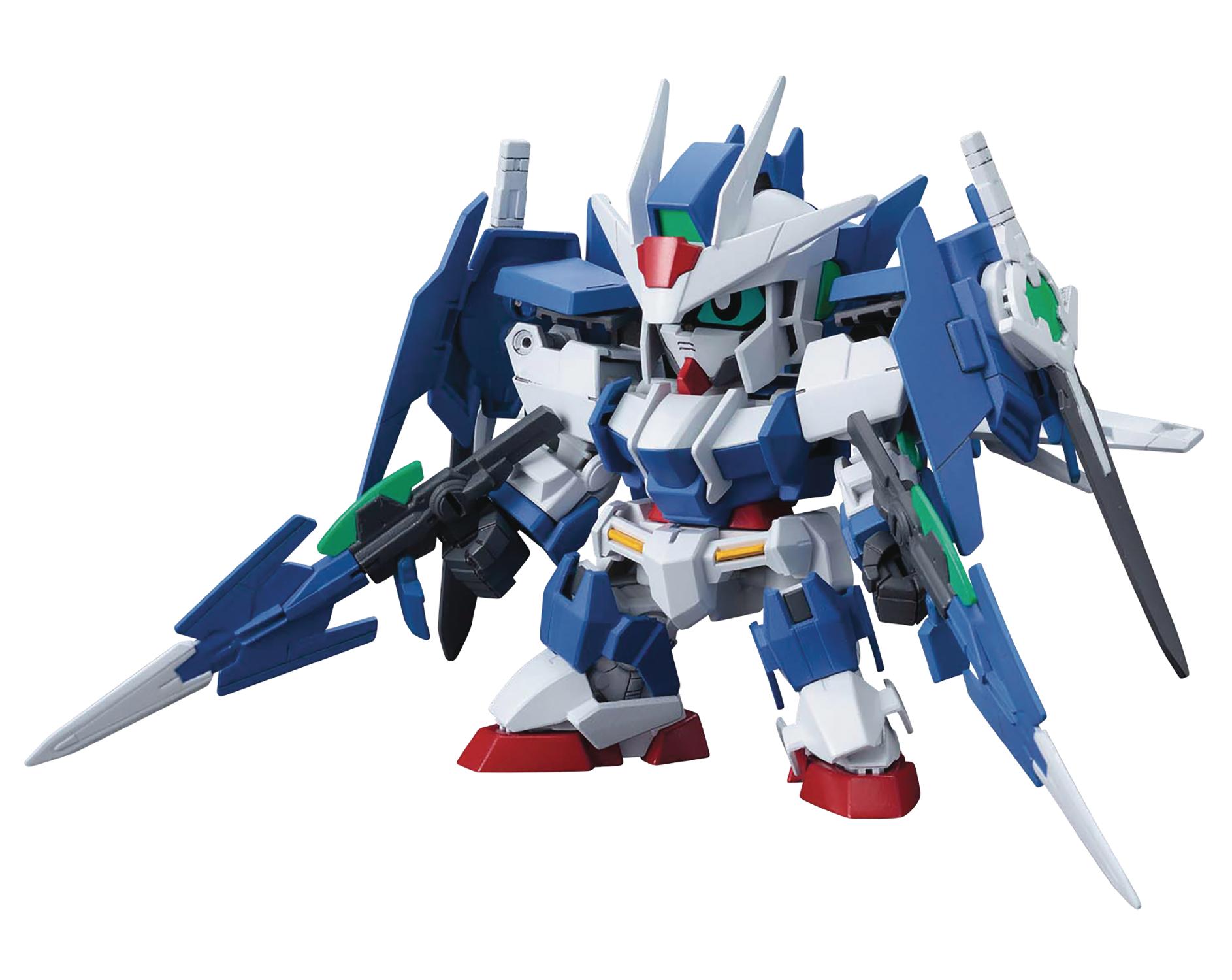Gundam Cross Silhouette: Gundam 00 Diver Ace Model Kit