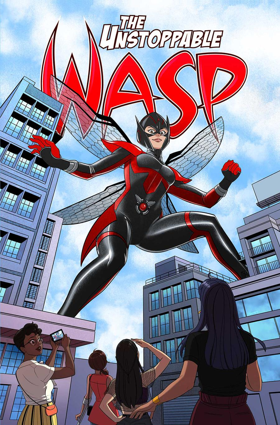 Unstoppable Wasp Volume 2: Girl Vs AIM TP