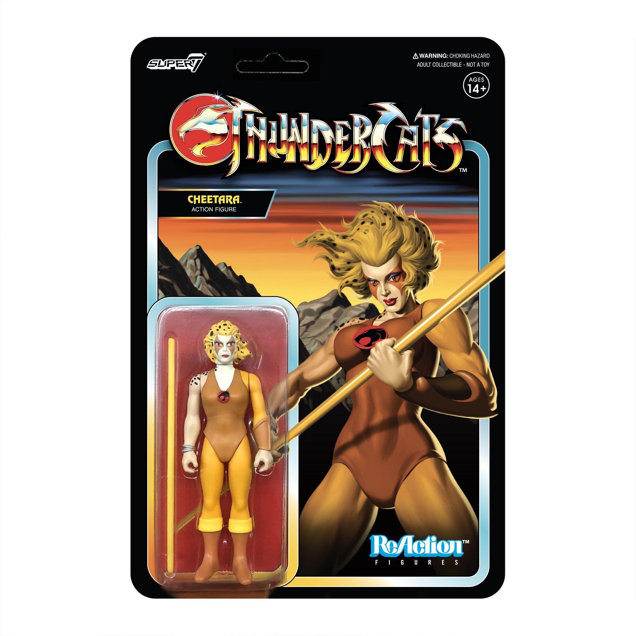 Thundercats: Cheetara Reaction Figure