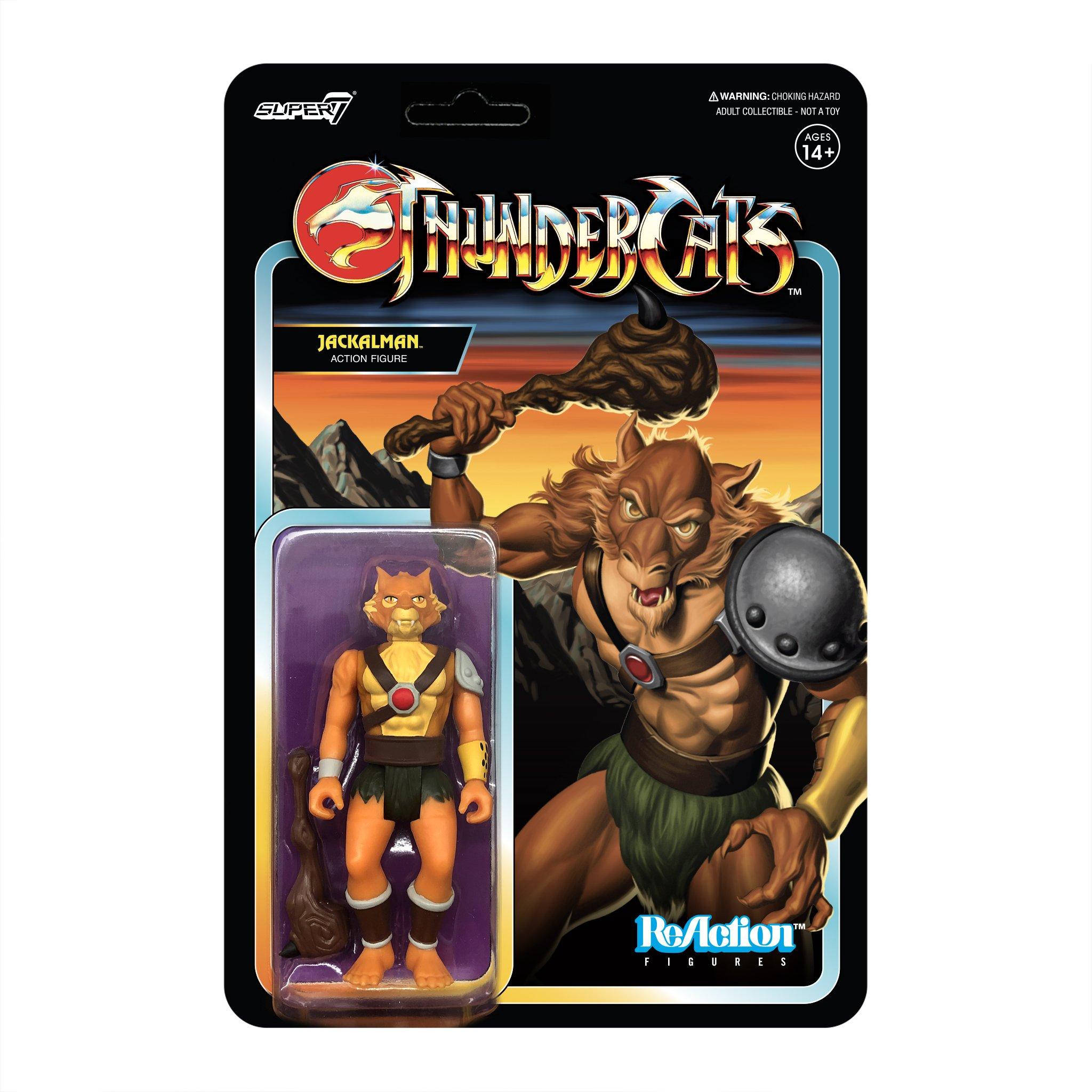 Thundercats: Jackalman Reaction Figure