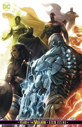 Justice League no. 34 (2018 Series) (Card Stock Variant)