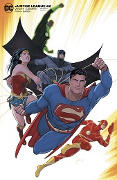 Justice League no. 42 (2018 Series) (Variant)
