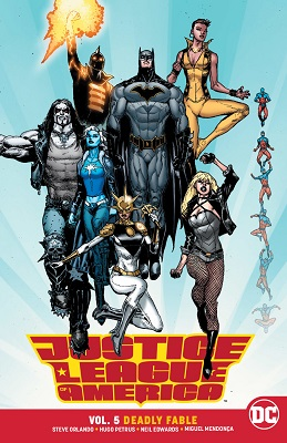 Justice League of America: Volume 5: Deadly Fable TP