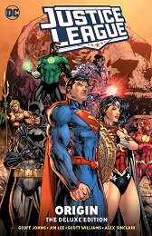 Justice League Origin: Deluxe Edition HC